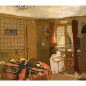 Reprodukcje obrazów Me Vuillard Sewing by the Window, rue Truffaut - Edouard Vuillard