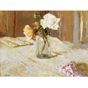 Reprodukcje obrazów Roses in a Glass Vase - Edouard Vuillard