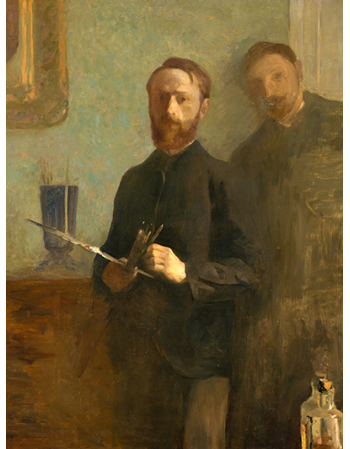 Self-Portrait with Waroquy