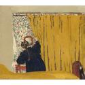 Reprodukcje obrazów The Yellow Curtain - Edouard Vuillard