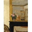 Reprodukcje obrazów Vase of Flowers on a Mantelpiece - Edouard Vuillard