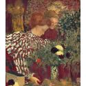 Reprodukcje obrazów Woman in a Striped Dress - Edouard Vuillard