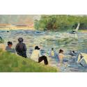 Reprodukcje obrazów Bathers - Georges Seurat