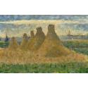 Reprodukcje obrazów Haystacks - Georges Seurat