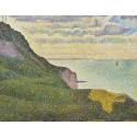 Reprodukcje obrazów Seascape at Port-en-Bessin, Normandy - Georges Seurat