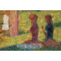 Reprodukcje obrazów Study of Figures for La Grande Jatte - Georges Seurat