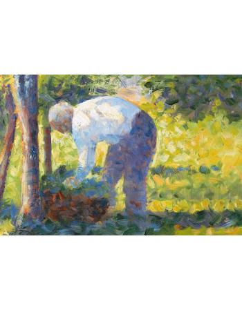 Reprodukcje obrazów The Gardener - Georges Seurat
