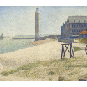 Reprodukcje obrazów The Lighthouse at Honfleur - Georges Seurat