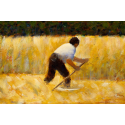 Reprodukcje obrazów The Mower - Georges Seurat