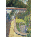 Reprodukcje obrazów The Watering Can - Garden at Le Raincy - Georges Seurat