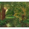 Reprodukcje obrazów View of the Seine - Gustave Courbet