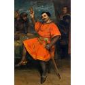 Reprodukcje obrazów Louis Gueymard as Robert le Diable - Gustave Courbet