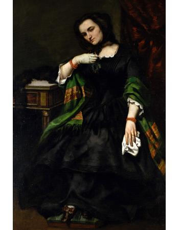 Reprodukcje obrazów Madame Auguste Cuoq - Gustave Courbet