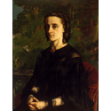 Reprodukcje obrazów Madame de Brayer - Gustave Courbet