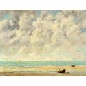 Reprodukcje obrazów The Calm Sea - Gustave Courbet