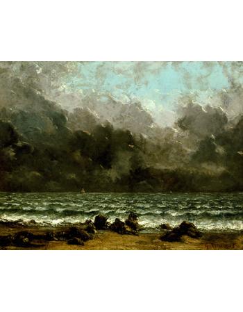 Reprodukcje obrazów The Sea - Gustave Courbet