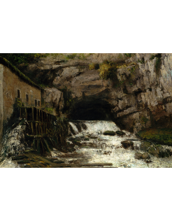 Reprodukcje obrazów The Source of the Loue - Gustave Courbet