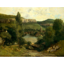 Reprodukcje obrazów View of Ornans - Gustave Courbet