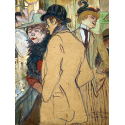 Reprodukcje obrazów Alfred la Guigne - Henri de Toulouse-Lautrec