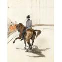 Reprodukcje obrazów At the Circus The Spanish Walk - Henri de Toulouse-Lautrec