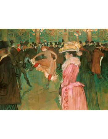 At the Moulin Rouge-The Dance