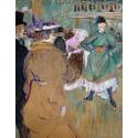 Reprodukcje obrazów Quadrille at the Moulin Rouge - Henri de Toulouse-Lautrec