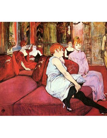 Salon at the Rue des Moulins