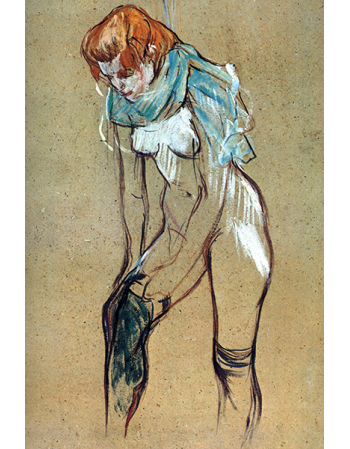 Stockings by Toulouse-Lautrec