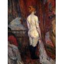 Reprodukcje obrazów Woman before a Mirror - Henri de Toulouse-Lautrec