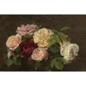 Reprodukcje obrazów Roses de Nice on a Table - Henri Fantin-Latour