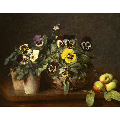 Still Life with Pansies