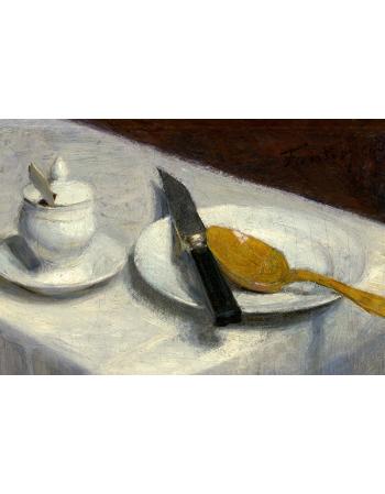 Reprodukcje obrazów Still Life with Mustard Pot - Henri Fantin-Latour
