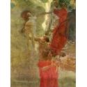 Reprodukcje obrazów Composition design to medicine - Gustav Klimt