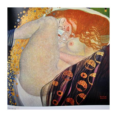 Reprodukcja obrazu Gustav Klimt Danae
