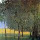 Reprodukcja obrazu Gustav Klimt Fruit trees