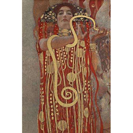 Reprodukcja obrazu Gustav Klimt Hygieia