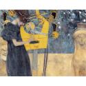Reprodukcje obrazów Music - Gustav Klimt