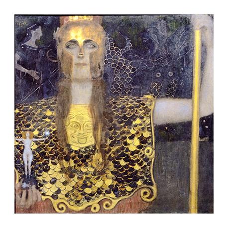 Reprodukcja obrazu Gustav Klimt Pallas Athene