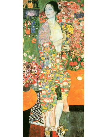 Reprodukcja obrazu Gustav Klimt The dancer