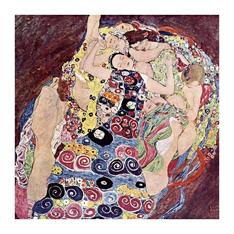 Reprodukcja obrazu Gustav Klimt Virgins