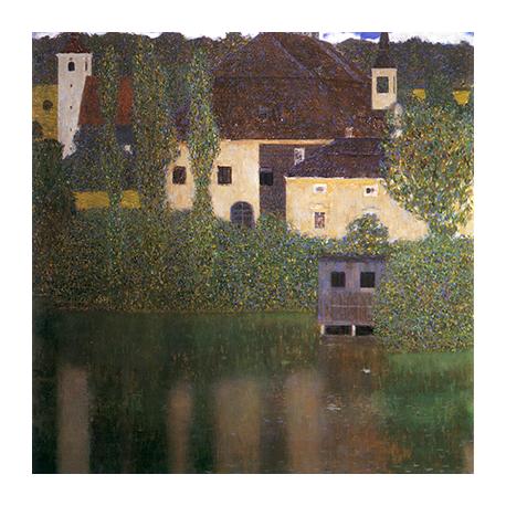 Reprodukcja obrazu Gustav Klimt Water castle