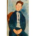 Boy in a Striped Sweater