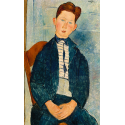 Reprodukcje obrazów Boy in a Striped Sweater - Amadeo Modigliani