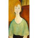Reprodukcje obrazów Girl in a Green Blouse - Amadeo Modigliani