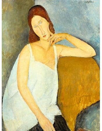 Reprodukcje obrazów Jeanne Hébuterne - Amadeo Modigliani
