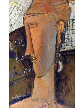Reprodukcje obrazów Lola de Valence - Amadeo Modigliani