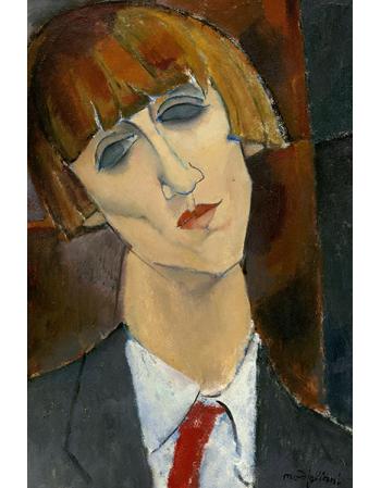 Reprodukcje obrazów Madame Kisling - Amadeo Modigliani
