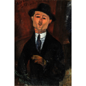 Reprodukcje obrazów Paul Guillaume - Amadeo Modigliani
