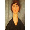 Reprodukcje obrazów Portrait of a Young Woman - Amadeo Modigliani
