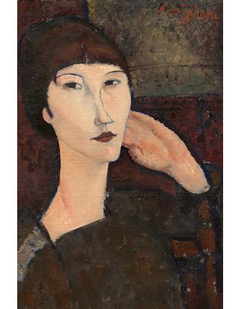 Reprodukcje obrazów Woman with Bangs - Amadeo Modigliani
